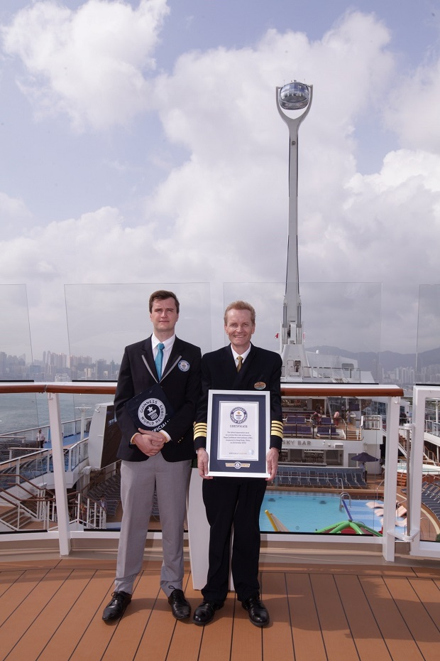 Tallest observation deck on a cruise ship body 2