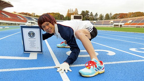 Japan---Fastest-100m-running-on-all-fours-main