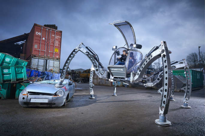 Largest Rideable Hexapod