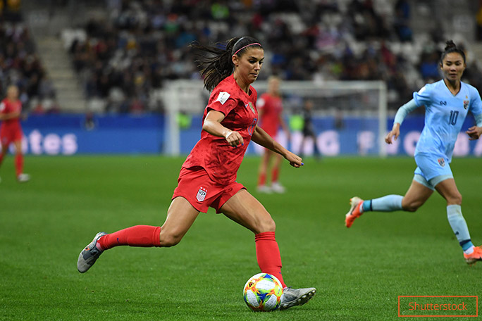 Women's World Cup Alex Morgan