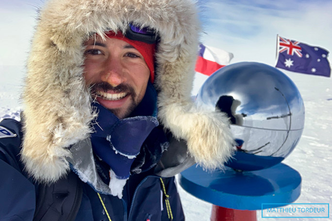 Youngest person reach South Pole unassisted
