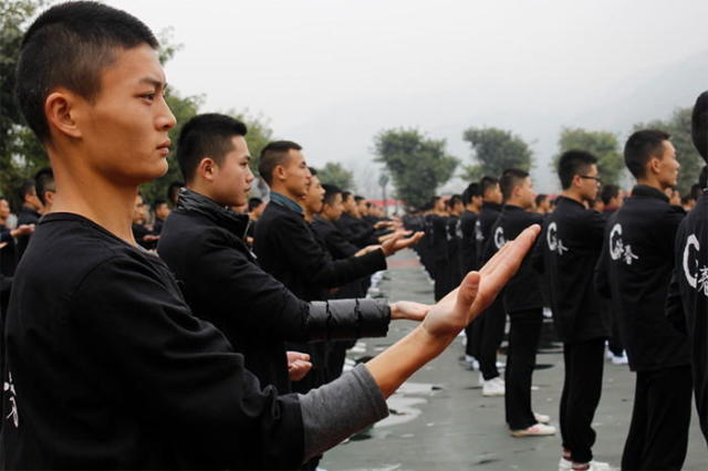 Largest Wing Chun display